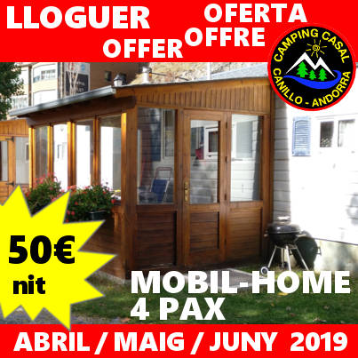 oferta mobil-home camping casal